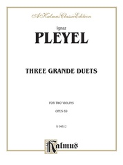 Three Grande Duets, Opus 69