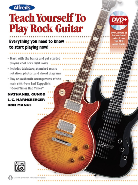 Alfred\'s Teach Yourself to Play Rock Guitar: Guitar Book & DVD
