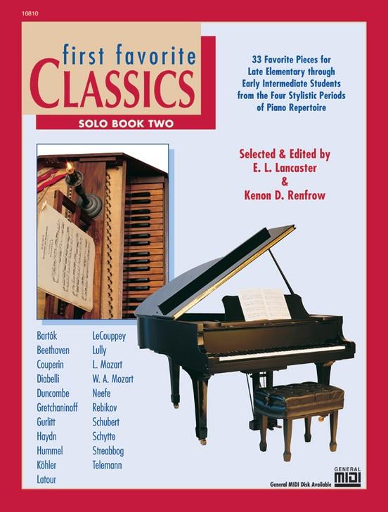 First Favorite Classics: Solo, Book 2