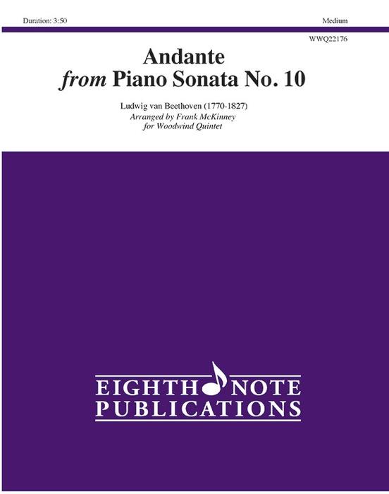 Andante from Piano Sonata No. 10