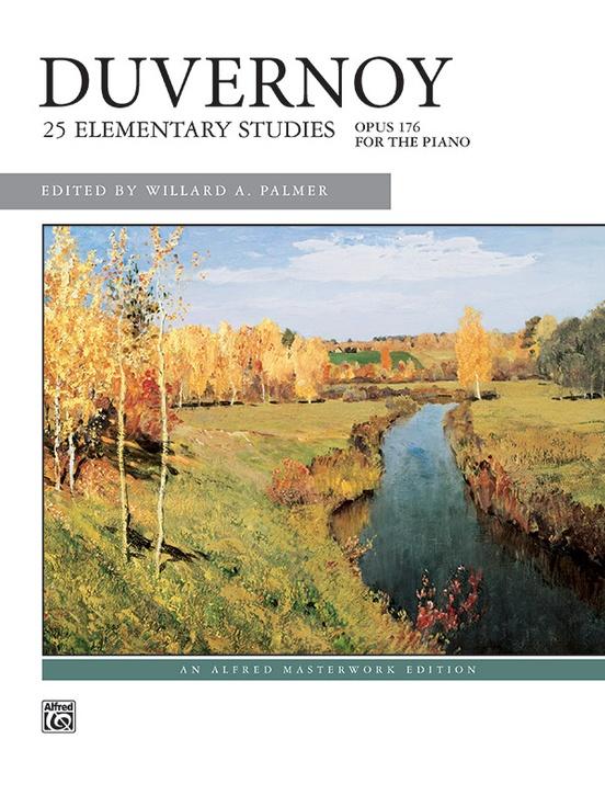 Duvernoy: 25 Elementary Studies, Opus 176