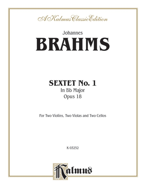 Sextet in B-flat Major, Opus 18