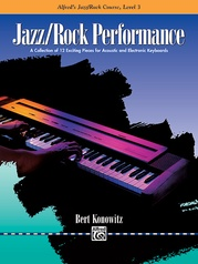 Alfred's Basic Jazz/Rock Course: Performance, Level 3