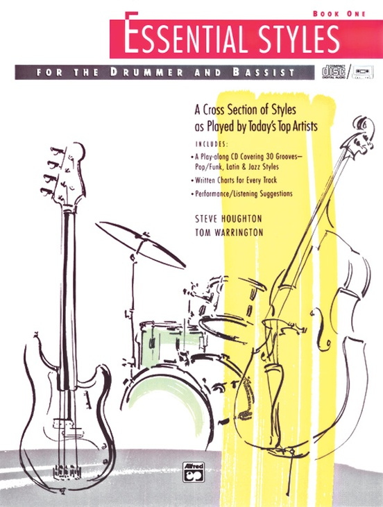 Essential Styles for the Drummer and Bassist, Book 1
