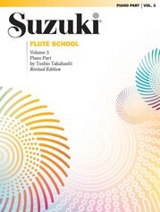 Suzuki Flute School Piano Acc., Volume 3 (Revised)