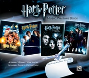 Harry Potter Music Writing Book