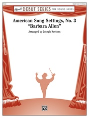 American Song Settings, No. 3