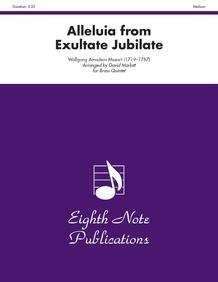 Alleluia (from <i>Exultate Jubilate</i>)