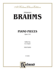 Piano Pieces, Opus 118