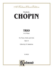 Piano Trio in G Minor, Opus 8