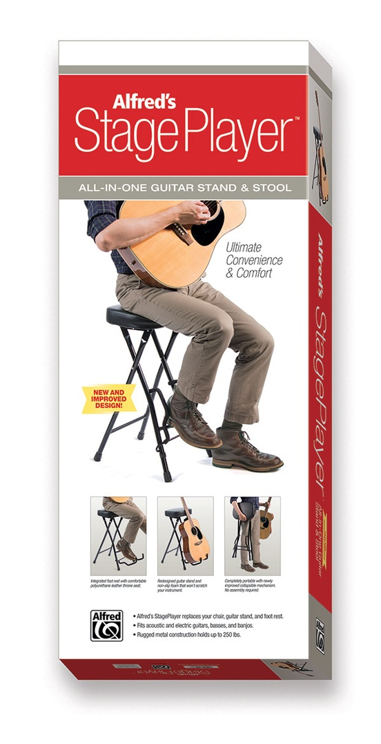 Alfred's StagePlayer Guitar Stand & Stool