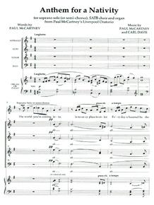 Anthem for a Nativity