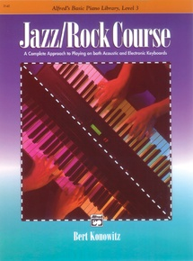 Alfred's Basic Jazz/Rock Course: Lesson Book, Level 3