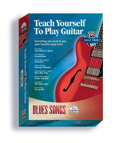Alfred\'s Teach Yourself to Play Guitar: Blues Songs: Guitar Boxed ...