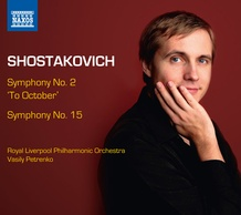 "Symphony No. 2 ""To October"" and Symphony No. 15"