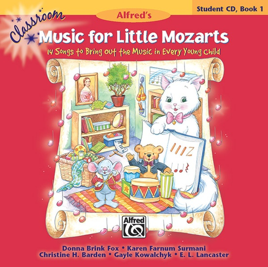 Classroom Music for Little Mozarts: Student CD Book 1