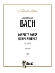 Complete Organ Works, Volume VII