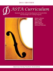 ASTA String Curriculum 2011 Edition