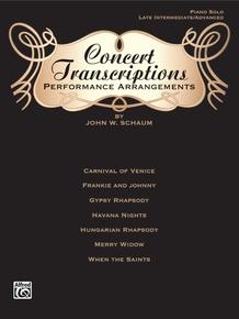 Concert Transcriptions