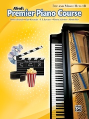 Premier Piano Course, Pop and Movie Hits 1B