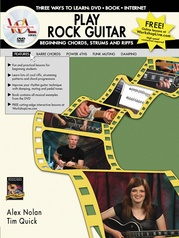 Play Rock Guitar: Beginning Chords, Strums, and Riffs