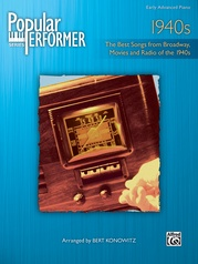 Popular Performer: 1940s