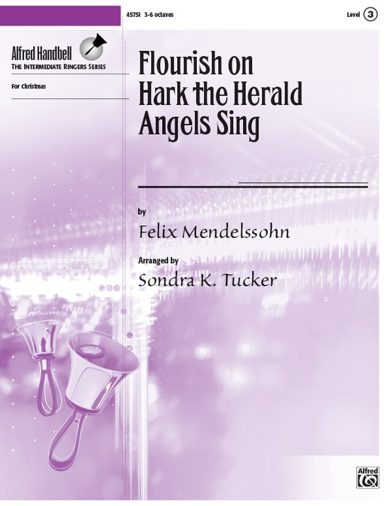 "Flourish on ""Hark the Herald Angels Sing"""