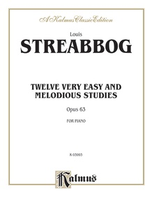 Twelve Very Easy and Melodious Studies, Opus 63