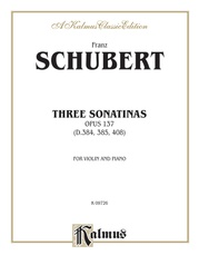 Three Sonatas, Opus 137