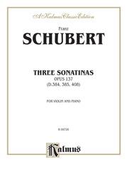Three Sonatas, Opus 137