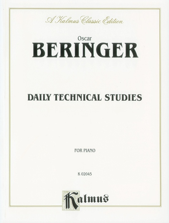 Beringer, Daily Technical Studies for Piano