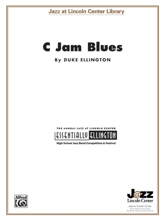 C Jam Blues Full Score Jazz at Lincoln Center