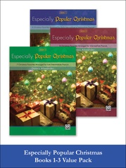 Especially Popular Christmas 1-3 (Value Pack)