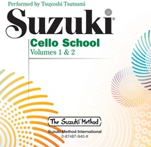 Suzuki Cello School CD, Volume 1 & 2
