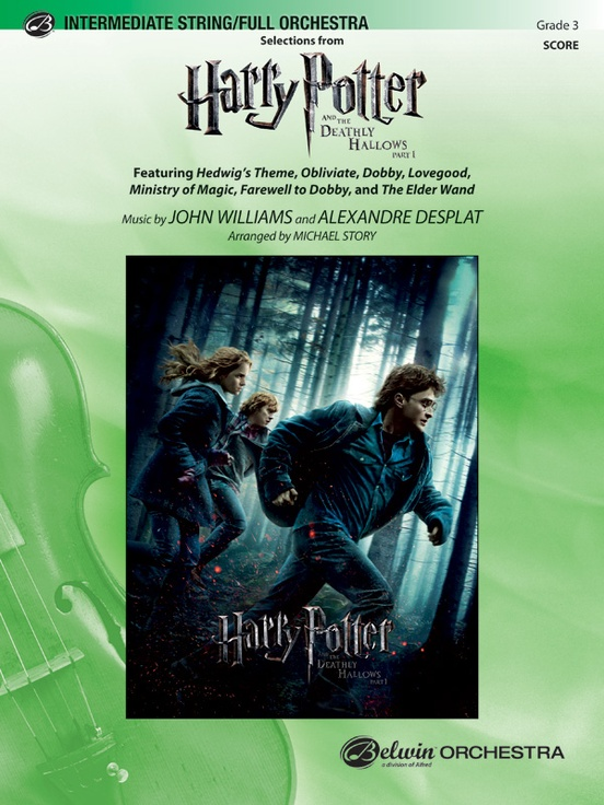 Harry Potter And The Deathly Hallows Part 1 Selections From Full