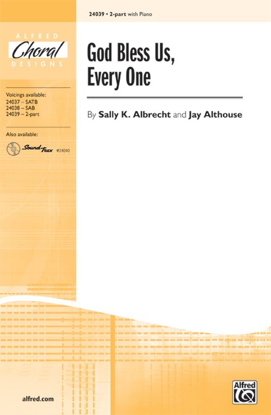 Sing Noel, Noel! - Words and music by Sally K. Albrecht and Jay Althouse - Choral Octavo - SATB