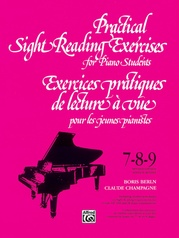 Practical Sight Reading Exercises for Piano Students, Books 7, 8, 9