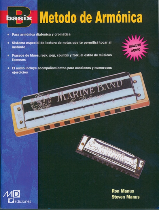 Basix®: Harmonica Method (Spanish Edition)