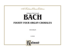 Forty-Four Organ Chorales