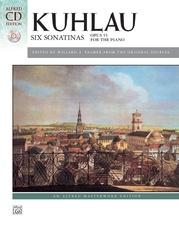 Kuhlau, Six Sonatinas, Opus 55