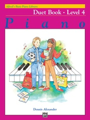 Alfred's Basic Piano Library: Duet Book 4