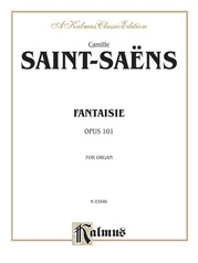 Fantasie for Organ, Opus 101