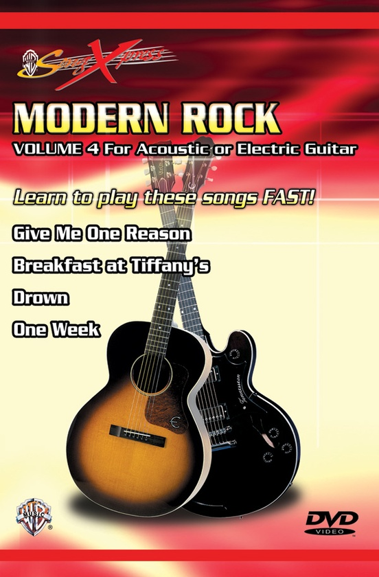 SongXpress®: Modern Rock, Vol. 4 (for Acoustic or Electric Guitar)