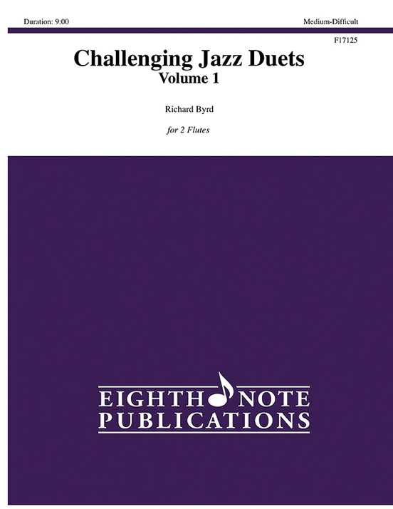 Challenging Jazz Duets, Volume 1
