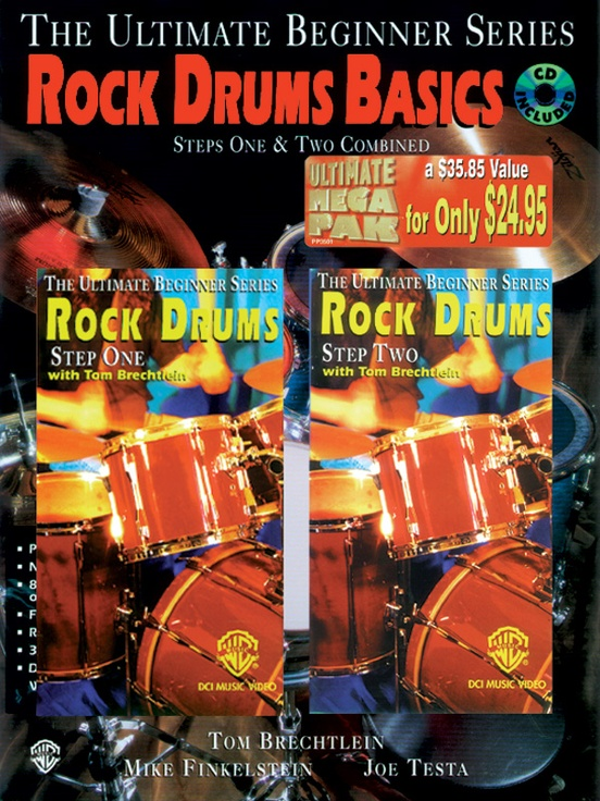 Ultimate Beginner Series Mega Pak: Rock Drum Basics Mega Pak