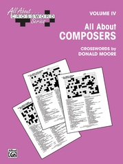 All About . . . Crossword Series, Volume IV -- All About Composers