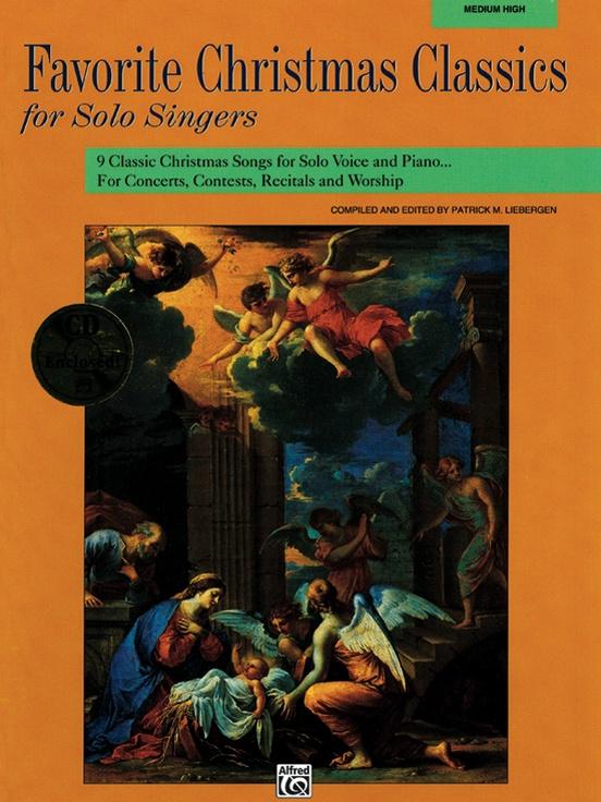 Favorite Christmas Classics for Solo Singers: Medium High Voice ...