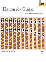 Hanon for Guitar: In TAB