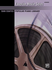 Dan Coates Popular Piano Library: Favorite Movie Solos