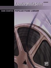 Dan Coates Popular Piano Library: Favorite Movie Solos